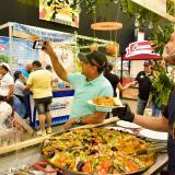 Aspecto de la feria Sabor Barranquilla realizada en 2019.