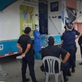 Atención médica en Cárcel de Ternera en Cartagena.