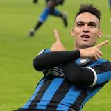 Lautaro Martínez, delantero del Inter.