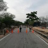 Los guardias de la etnia kankuama regulan el acceso a los resguardos.