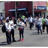En video   Disturbios en plantón de trabajadores nocturnos en la Murillo