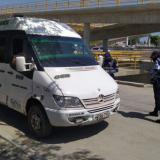 'Frenan' viaje de 10 vehículos por ilegal transporte intermunicipal
