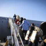 Migrantes colombianos repatriados no podrán entrar a Chile por 9 años