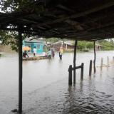 Lluvias causan estragos en poblaciones de Sucre