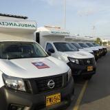 Ambulancias medicalizadas.