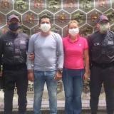 Yonnier Emilio Pinzón Mogollón y Yolanda González García, capturados.