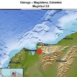 Temblor en el Magdalena se sintió en Ciénaga y Zona Bananera