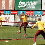 El samario Radamel Falcao García durante un entrenamiento del Galatasaray.