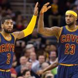 Kyrie Irving y Lebron James fueron compañeros en los Cavaliers de Cleveland.