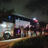 Policía impide salida de dos buses que pretendían llegar a Bogotá