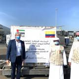 Emiratos Árabes envía ayuda a Colombia para luchar contra COVID-19