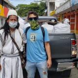 Carlos Vives entrega ayudas a población vulnerable del Magdalena