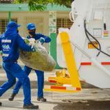 Triple A comenzó operación directa de recolección de residuos en Barranquilla