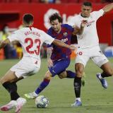 Barcelona empata en Sevilla y pone en peligro su liderato