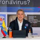 Presidente Duque pide a colombianos prepararse para una Navidad en pandemia
