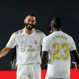 Benzema espera seguir celebrando goles hoy, cuando el Real Madrid visite a la Real Sociedad.