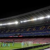 Barcelona y todos los equipos de la Liga de España vienen jugando sus partidos a puerta cerrada por la pandemia del COVID-19.