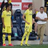Carlos Bacca entró junto con Bruno Soriano, quien volvió a jugar después de 1.128 días alejado de las canchas por una lesión.