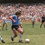 Maradona se sigue emocionando con su golazo a Inglaterra