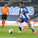 Mateus Uribe ingresó en el segundo tiempo y refrescó las ideas del Porto.