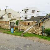 Vendaval mantiene sin energía a siete municipios de Sucre