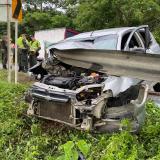 Muere mujer en accidente que involucra a un policía