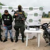 Sorprendido con 2.500 dosis de cocaína en el tanque de la moto