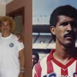 Ronald es el hermano menor, 'el Pibe' es el mayor. /Ronald en su época como jugador del Junior.