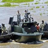 Armada reporta ataque en medio de operaciones fluviales contra narcotráfico
