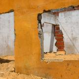 Distrito repara 10 de las 76 casas afectadas en Rebolo
