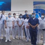 Un grupo de trabajadores de la clínica BethelSalud.