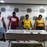 Capturan a cinco presuntos integrantes de la banda de 'Los Zungos' en Ciénaga