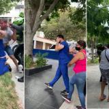 En video | Pediatra fue agredido en el norte de Barranquilla