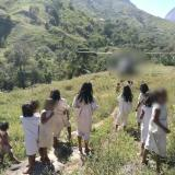 Enfrentamientos entre wiwas y campesinos por tierras en la Sierra Nevada
