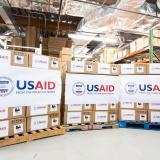 Colombia recibe 200 ventiladores donados por USAID