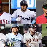 Julio Teherán, Harold Ramírez, Óscar Mercado, Giovanny Urshela, Jorge Alfaro, Dónovan Solano y José Quintana.