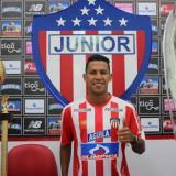 James Sánchez, volante del Junior.
