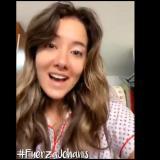 El video de aliento enviado por Daniella Álvarez a Johanis Menco.