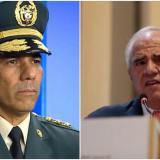 General Eduardo Zapateiro y el expresidente Ernesto Samper.