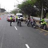 Inseguridad en Barranquilla bajó durante cien días de pandemia: Policía
