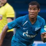 Wilmar Barrios en acción con el Zenit.
