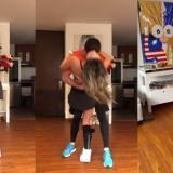 """""""Poniéndole swing a la vida"""", Daniella en su primer baile luego de cirugía"""