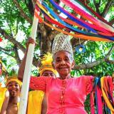 Fallece Dora Thomas, 'Cacica' de la danza Indios de Trenza Chimila