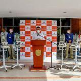 Entregan 20 ventiladores mecánicos de UCI a hospital de Santa Marta