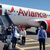 Un vuelo humanitario operado por Avianca.