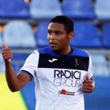 Luis Fernando Muriel no es titular, pero ha resultado un jugador vital para el Atalanta.