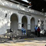 Fachada de la Clínica El Prado en Barranquilla.