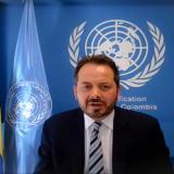 Carlos Ruiz Massieu, representante de la ONU para Colombia.