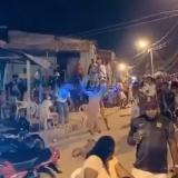 La fiesta callejera en plena pandemia en el sector Belén del barrio Nelson Mandela de Cartagena.