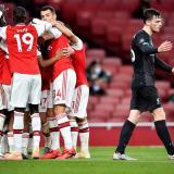 El Arsenal vence al Liverpool y lo deja sin récord